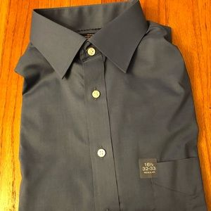 Stafford men's dress shirt (blue gray color)